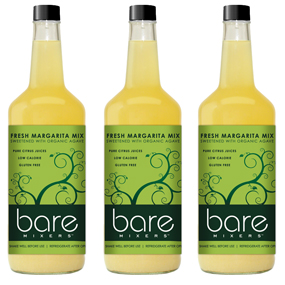 Photo of Bare Mixers bottles.